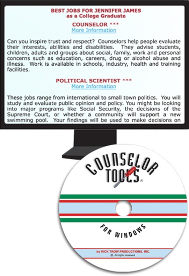 Counselor Tools CD-ROM